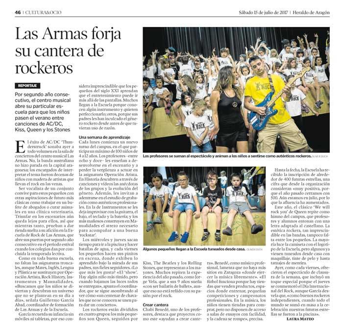 Las Armas Zaragoza Prensa